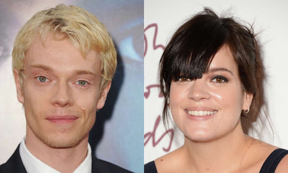 "Famous: Lily Allen.  Famous for her work as a recording artist, but better known in England than the U.S. Named GQ's ""Woman of the Year"" in 2009.  Almost as famous: Alfie Allen. Almost as famous for his role as Theon Greyjoy on ""Game of Thrones."" The popularity of ""GoT"" makes Alfie more recognizable in the U.S. than his big sis. Photo: Getty Images"