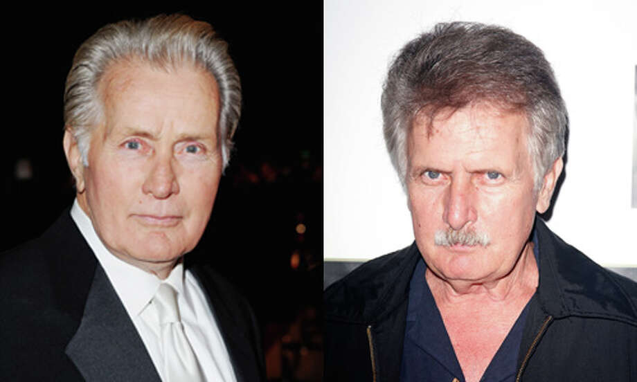 "Famous: Martin Sheen.  Famous for ""The West Wing,"" ""Apocalypse Now,"" ""Wall Street""  and ""Badlands.""   Less famous: Joe Estevez.  Less famous for `Beach Babes from Beyond' and `San Franpsycho.' Photo: Getty Images"
