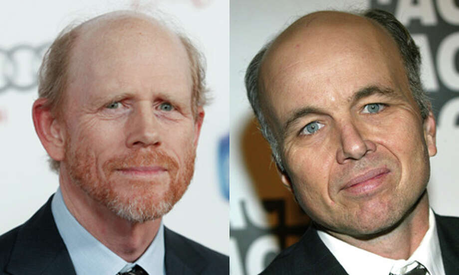 Famous:Ron Howard.  Famous as an actor in `The Andy Griffith Show,' `Happy Days' and `American Graffiti.' Famous as a director for `Parenthood,' `Backdraft,' `Apollo 13' and `A Beautiful Mind,' for which he won an Oscar. Also famous as the voice of `Arrested Develop.'  Less famous: Clint Howard.  Less famous for his work as the jam-sandwich-eating kid on `The Andy Griffith Show.' Photo: Getty Images