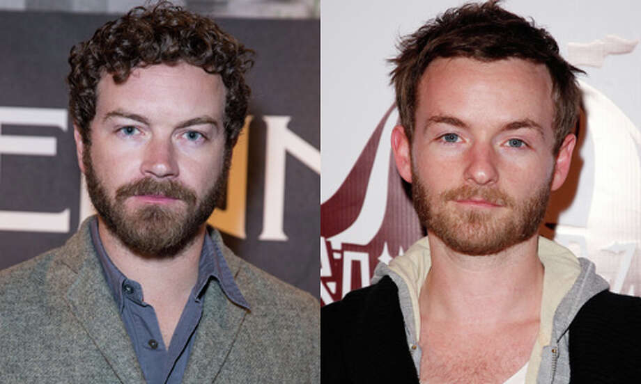 Slightly famous:Danny Masterson.  Slightly famous for `That '70s Show.'  Less famous: Christopher Masterson. Less famous for playing the oldest brother on `Malcolm in the Middle.' Photo: Getty Images