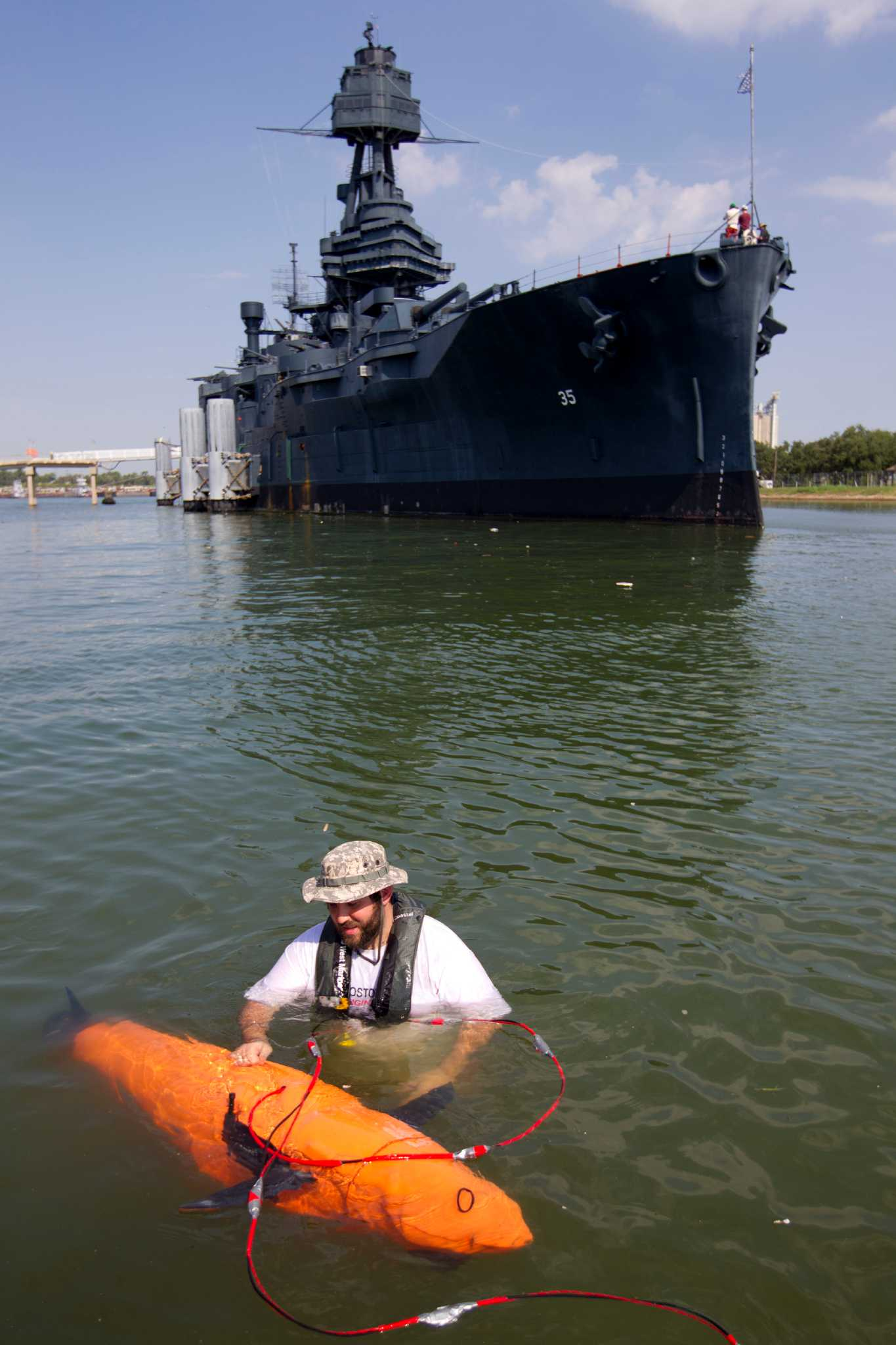 Nutrition Food: Battleship Texas Plays Role In Testing Contraband-hunting