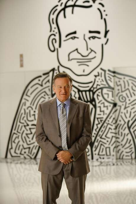 "Actor Robin Williams has a new show called ""The Crazy Ones"" on CBS this fall, beginning Sept. 26. ""Pilot"" -- Coverage of the CBS pilot THE CRAZY ONES. Photo: Cliff Lipson/CBS © 2013 CBS Broadcasting, Inc. All Rights Reserved. Photo: Cliff Lipson/CBS"