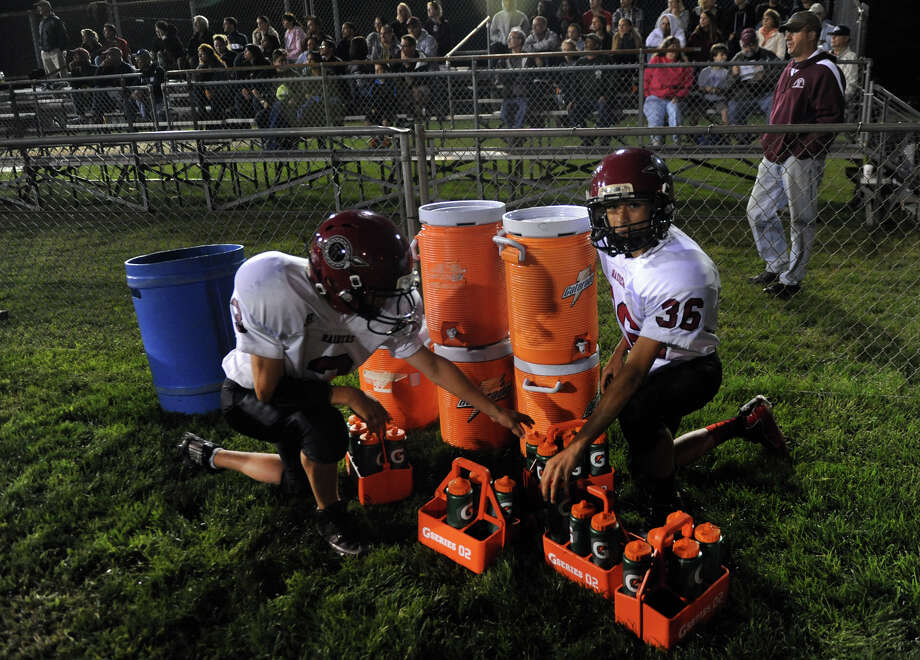 High school football action between Ansonia and Torrington in Ansonia, Conn. on Friday September 13, 2013. Photo: Christian Abraham / Connecticut Post