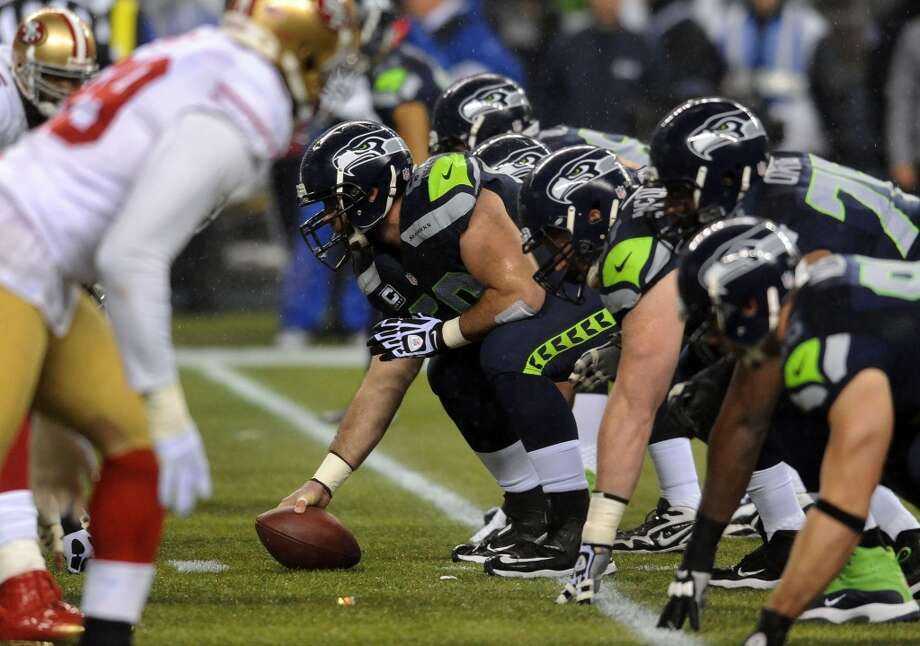 Five things to watch: 49ers (1-0) at Seahawks (1-0) (Week 2) Sunday, Sept. 15 | 5:30 p.m. PDT | CenturyLink Field, Seattle | TV: NBC  On Sunday, the San Francisco 49ers roll into CenturyLink Field for a heated rivalry game with big implications. It's the most anticipated game (so far) of the most anticipated season in Seahawks history, and tensions have been building for months. As the teams and fans alike prepare for a wild night Sunday, here are five of the biggest things to keep an eye on as the Seahawks battle the Niners on ''Sunday Night Football.'' The whole nation will be watching. Photo: Steve Dykes, Getty Images