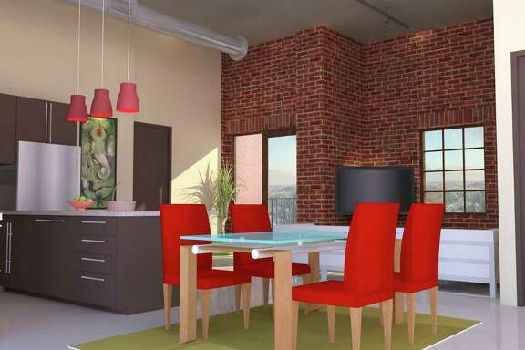Rendering of a unit in 1111 Studemont Place