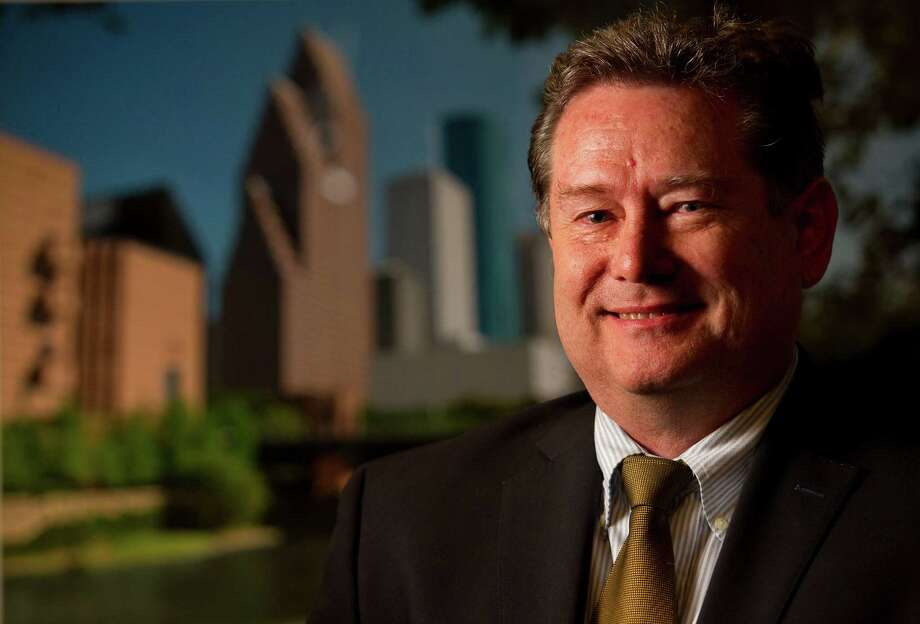 Darrell Harwood is president and CEO of Fisk Electric, a company that has wired some of the city's biggest buildings and ballparks. Photo: Johnny Hanson, Staff / © 2013  Houston Chronicle