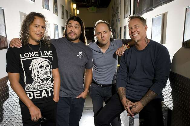 Metallica goes big with concert, story in Imax - SFGate