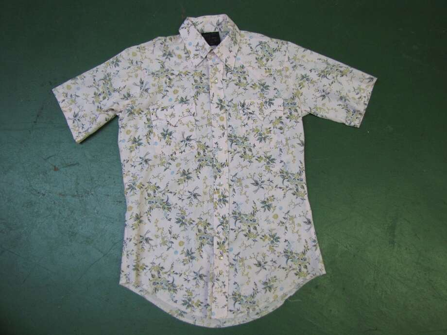 Men s floral shirt, $9, Old Towne Flea Market, Port Neches Photo: Cat5