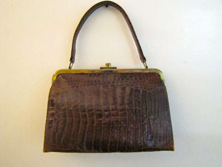 Vintage alligator purse, $10, Old Towne Flea Market, Port Neches Photo: Cat5