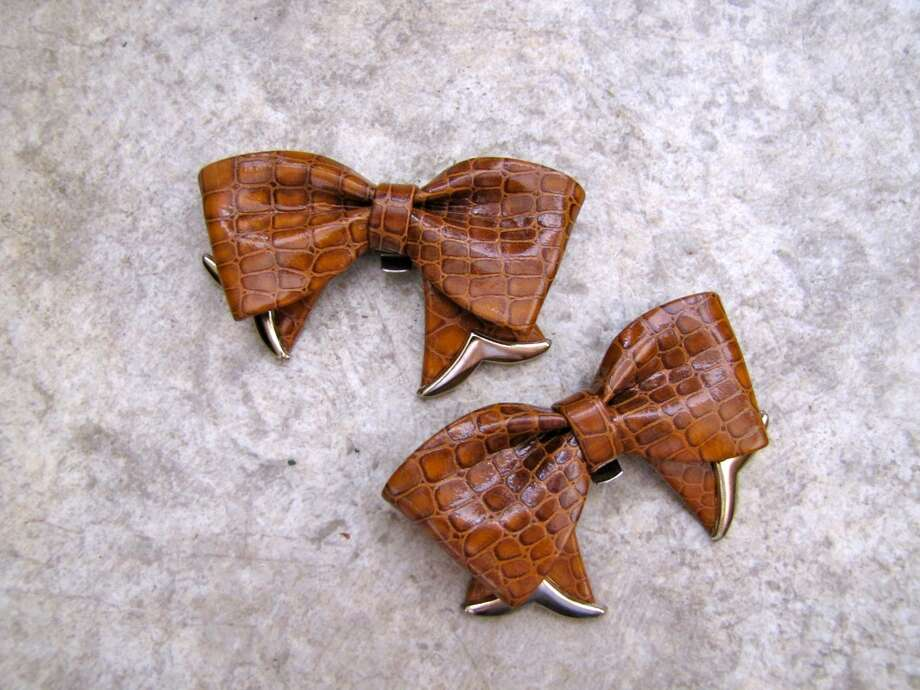 Vintage shoe clips, $4, Old Towne Flea Market, Port Neches Photo: Cat5