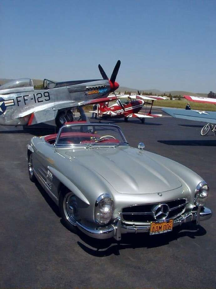 1957 Mercedes-Benz 300SL, owned by George Hansen