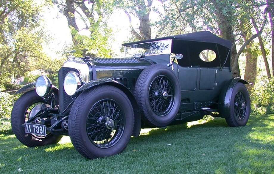1928 Bentley 4.5-L Vanden Plas LeMans, owned by Bruce Campbell.