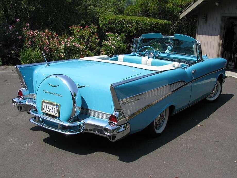 1957 Chevrolet Bel Air, owned by Bob Witt.