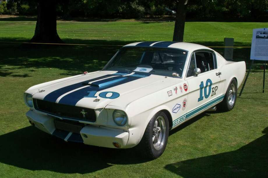 1965 Shelby GT350, owned by Chip Herman.