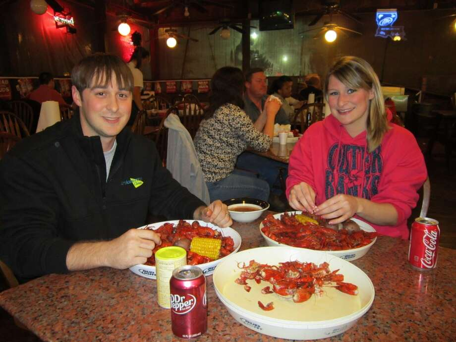 Crawfish Palace - a popular place with the locals.