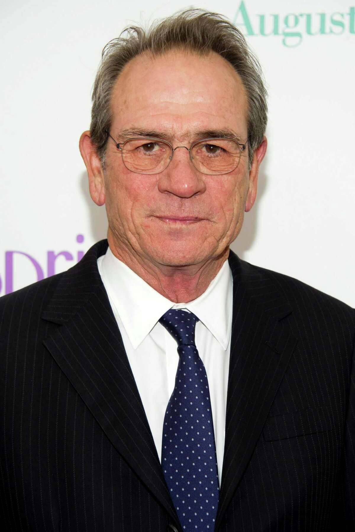 """FILE - This Aug. 6, 2012 file photo shows actor Tommy Lee Jones at the """"Hope Springs"""" premiere in New York. Jones was nominated for an Academy Award for best actor on Thursday, Jan. 10, 2013, for his role in A'A?""""Lincoln.A'A?"""" The 85th Academy Awards will air live on Sunday, Feb. 24, 2013 on ABC. (Photo by Charles Sykes/Invision/AP, file)"""