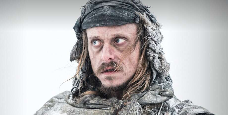 Mackenzie Crook, as wildling raider and skinchanger Orell in Season 3.