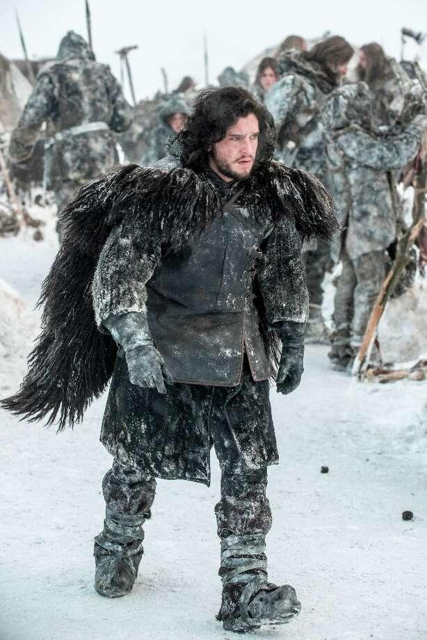 Kit Harrington as pretty, troubled Jon Snow in Season 3. Photo: HELENSLOAN, HBO / HBO