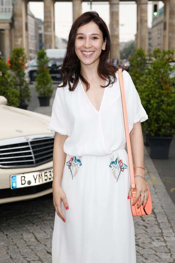 German actress Sibel Kekilli attends a Mercedes-Benz fashion show in Berlin on July 4, 2013. Photo: Franziska Krug, Getty Images