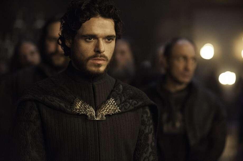 Richard Madden, as Robb Stark, in Season 3. Photo: HELENSLOAN