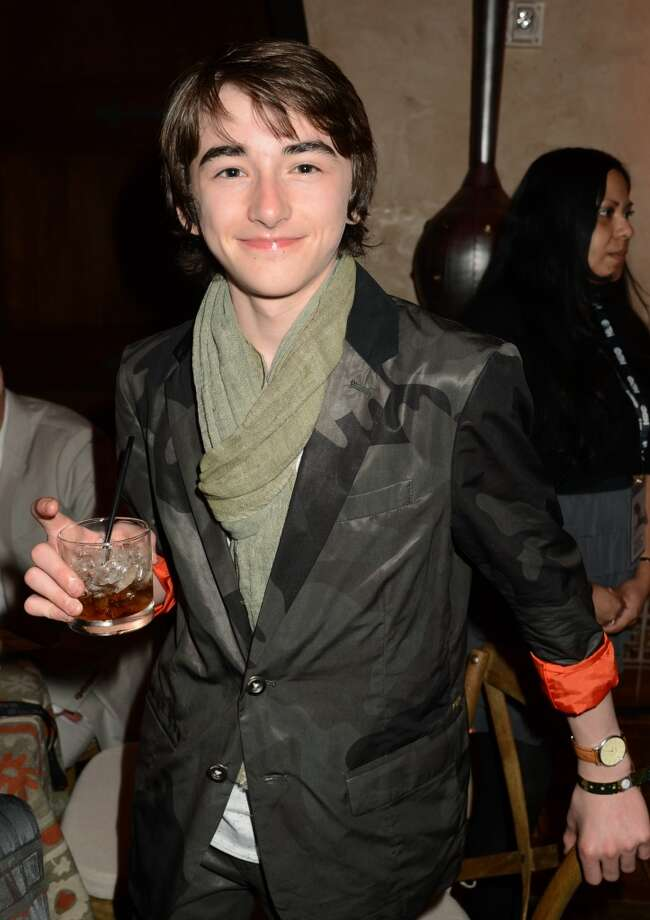 "Isaac Hempstead-Wright at a ""Game of Thrones"" party on March 18, 2013. Photo: Jeff Kravitz, FilmMagic"