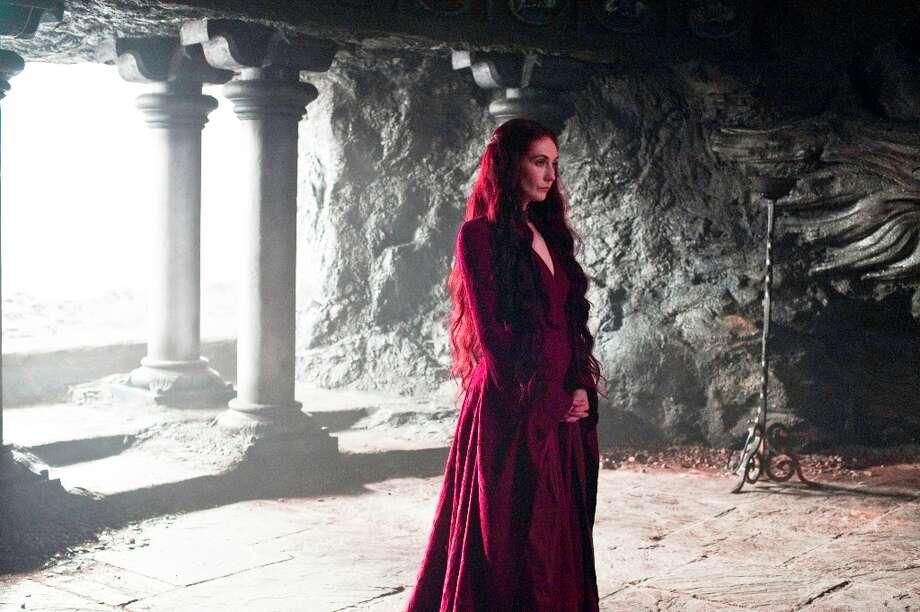 Carice van Houten as Melisandre in Season 3. Photo: HELENSLOAN, HBO / HBO