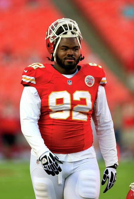 Chiefs NT Dontari Poe had six tackles and 1.5 sacks last week against Jacksonville. Photo: Jamie Squire / Getty Images