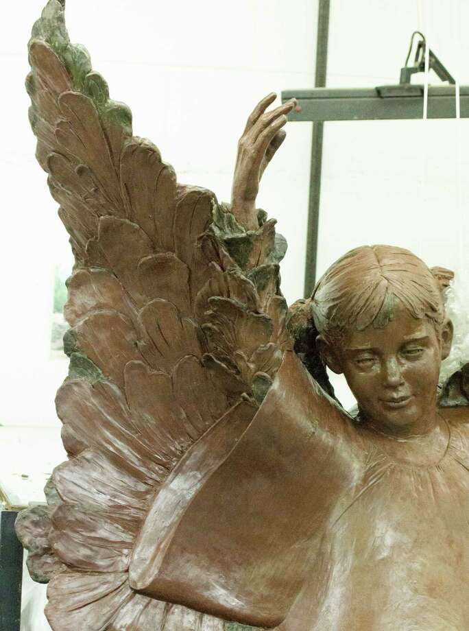 The Freedom Angel created by Sterett-Gittings Kelsey. Photo: Anne W. Semmes, Greenwich Time / Greenwich Time
