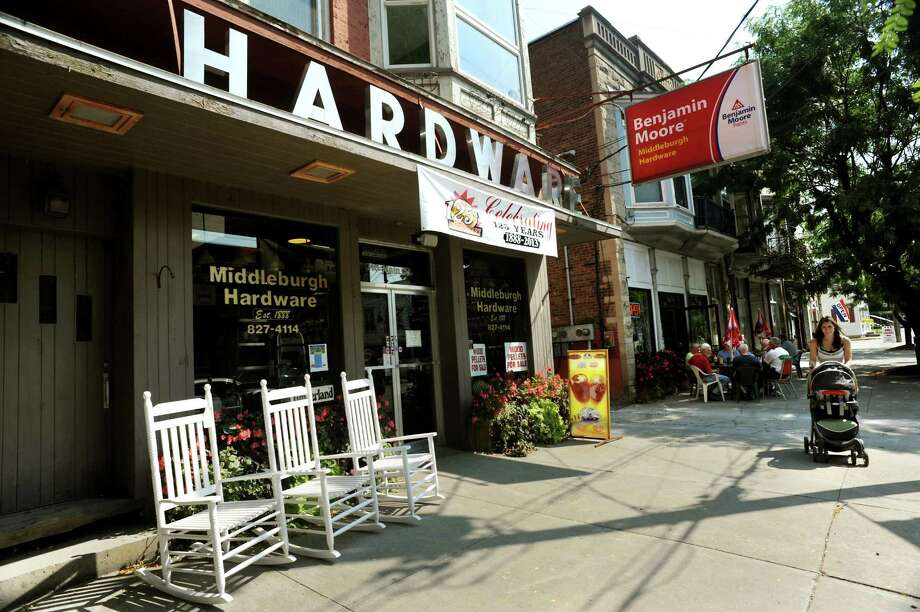 Middleburgh Hardware on Main Street on Wednesday, Sept. 11, 2013, in Middleburgh, N.Y. (Cindy Schultz / Times Union) Photo: Cindy Schultz / 00023829A