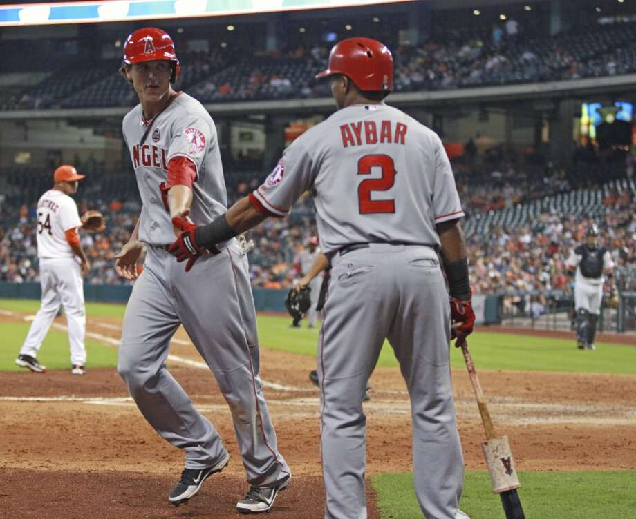 Sept. 14: Angles 6, Astros 2  The Astros found themselves down four runs after the fourth inning and weren't able to come back as the Angels took the second game of the series.  Record: 51-97. Photo: Eric Christian Smith, Associated Press
