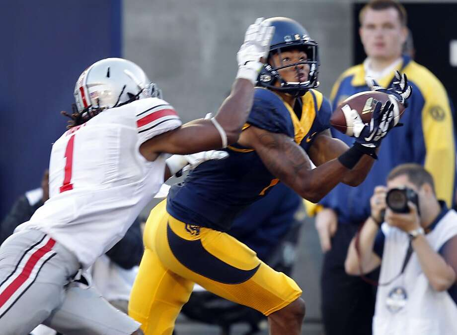 Wide receiver Bryce Treggs and more than 20 fellow Cal players grew up in UCLA country. Photo: Michael Macor, The Chronicle