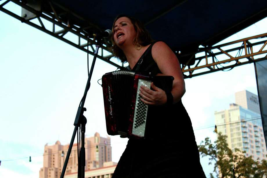 Fans of accordion music had a great time, enjoying their favorite music.