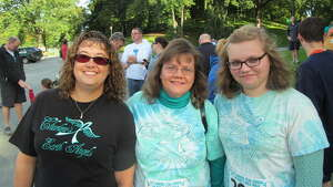 Were you Seen at the Caring Together ovarian cancer support group's Teal Ribbon Run/Walk at Washington Park in Albany on Sunday, Sept. 15, 2013?