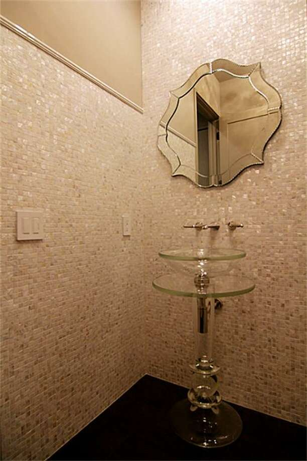 Powder room.  See the listing online or contact realtor Patricia Garrison: 2727 Kirby 25F