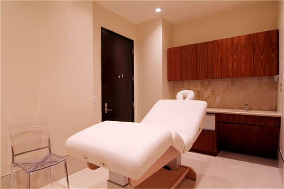 Spa facilities.  See the listing online or contact realtor Patricia Garrison: