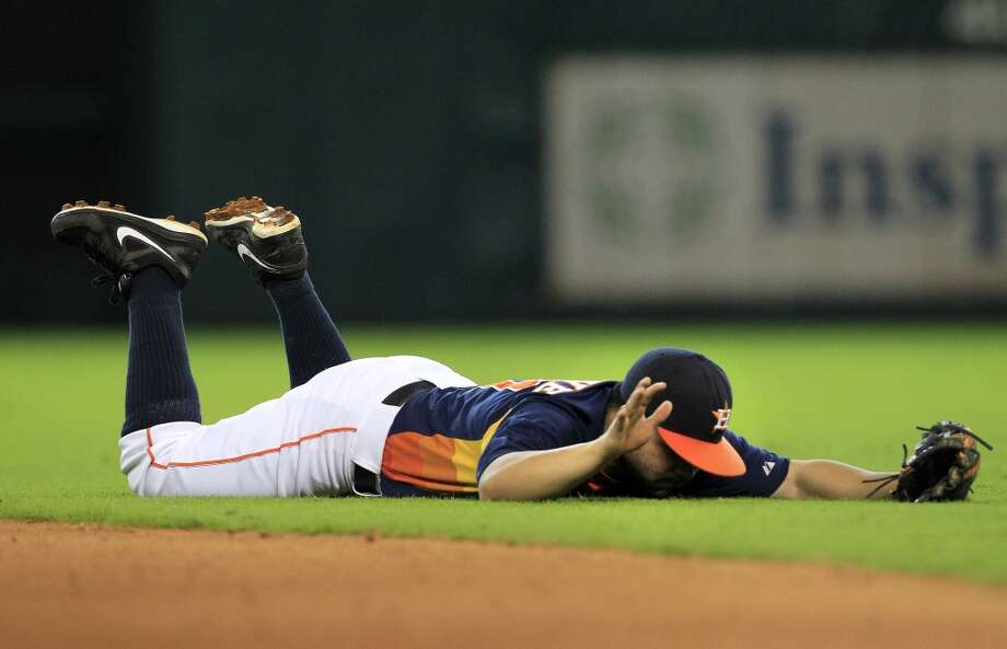 Sept. 15: Angles 2, Astros 1Houston inched closer to a 100-loss season and lost the series to Los Angeles.  Record: 51-98. Photo: Cody Duty, Houston Chronicle