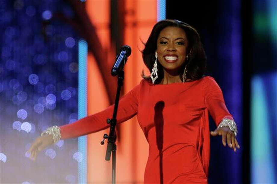 Miss Texas Ivana Hall performs. Photo: Mel Evans, AP / AP