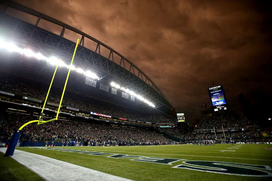 SEATTLE, WA - SEPTEMBER 15: A detailed view of Qwest Field during the game between the San Francisco 49ers and the Seattle Seahawks on September 15, 2013 in Seattle, Washington.  (Photo by Jonathan Ferrey/Getty Images) Photo: Jonathan Ferrey, Getty Images