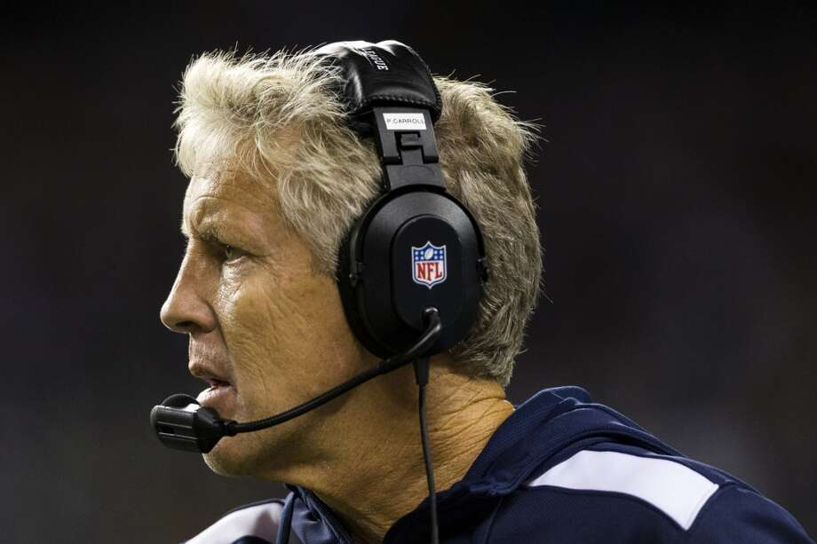 Seahawks head coach Pete Carroll watches from the sidelines during the second half. Photo: JORDAN STEAD, SEATTLEPI.COM