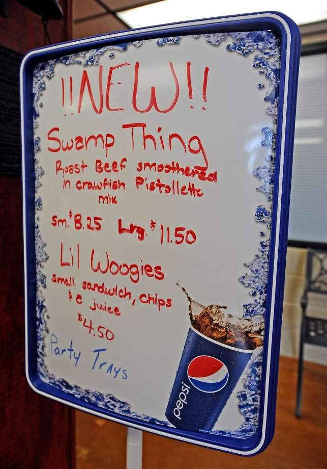 Vidors newest sandwich spot, Woogie's, is the Cat5 September 12, 2013 restaurant of the week.  Photo taken Wednesday, September 4, 2013. Photo taken: Randy Edwards/The Enterprise Photo: Beaumont Enterprise