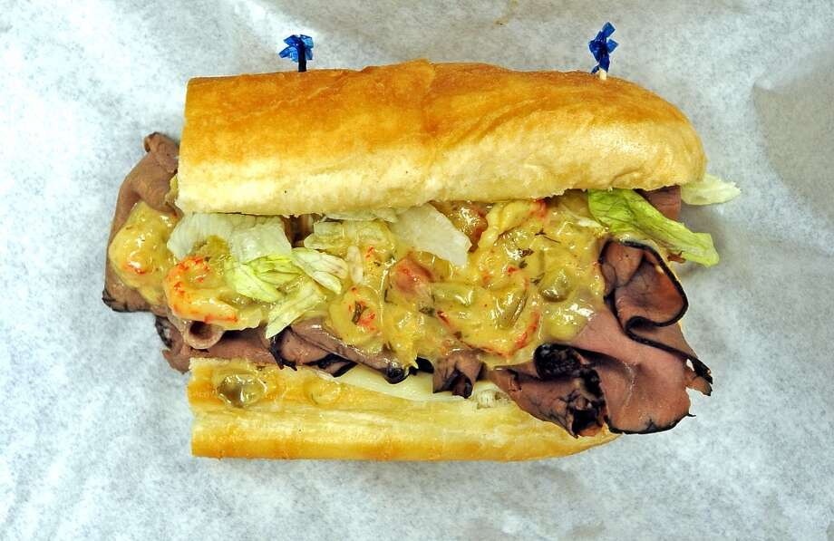 Vidors newest sandwich spot, Woogie's, is the Cat5 September 12, 2013 restaurant of the week.  Offering sandwiches like the Swamp Thing. Photo taken Wednesday, September 4, 2013. Photo taken: Randy Edwards/The Enterprise Photo: Beaumont Enterprise