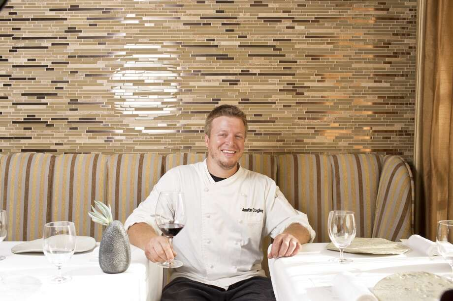Aubergine: Chef Justin Cogley at Aubergine in Carmel. Photo: Jason Henry, Special To The Chronicle