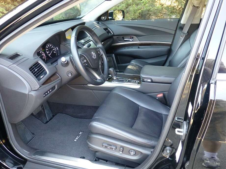 Pretty comfortable interior and not as austere as Honda (Acura's corporate parent) sometimes makes them.
