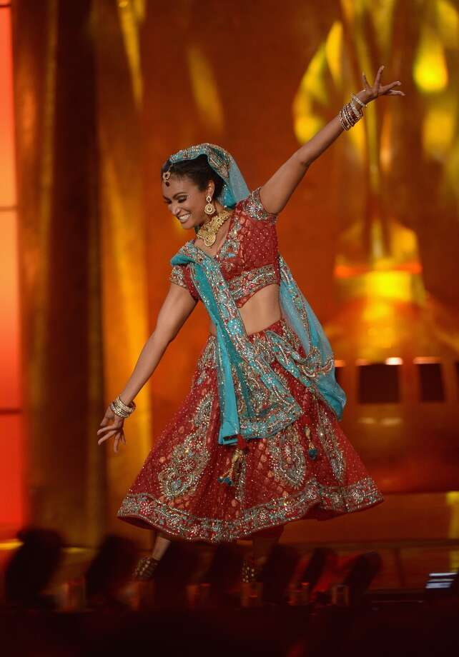 Miss America 2014 Nina Davuluri performs in the talent portion of the competition. Photo: Michael Loccisano, Getty Images