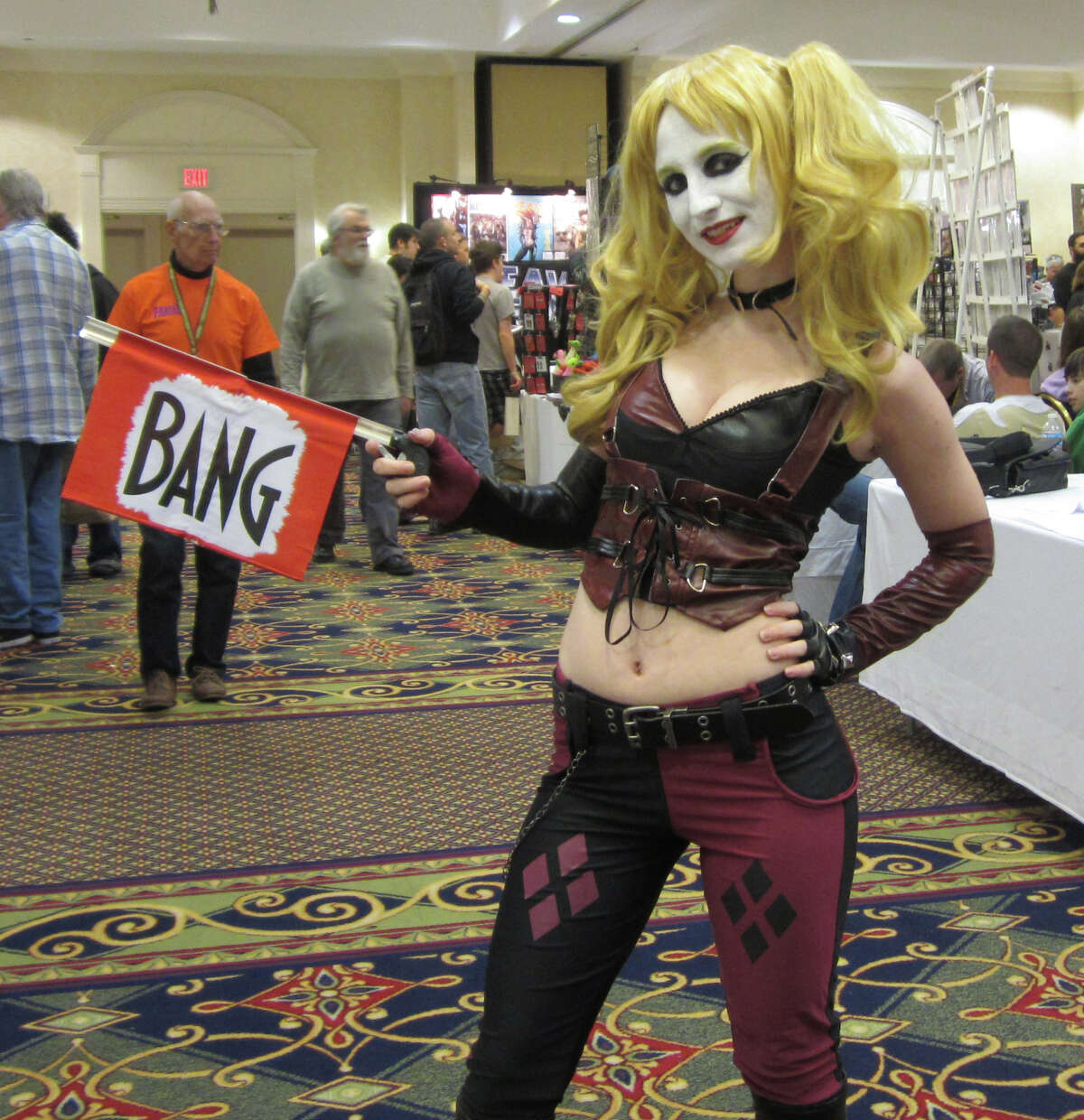 Were you Seen at Fantacon 2013, the comic book and horror festival held at The Marriott in Colonie and the Palace Theatre in Albany Thursday through Sunday, Sept. 12-15, 2013?