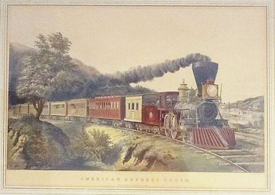 This print by Fanny Palmer, who painted more than 200 pieces for Currier & Ives, will be up for auction at the Westport Historical Society's fundraiser on Oct. 5. Photo: Contributed Photo / Westport News