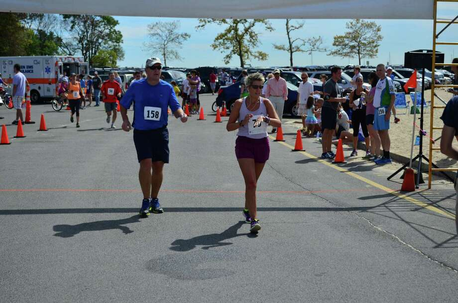 The 34th annual Darien Road Race took place at Pear Tree Point Beach on Sunday, Sept. 15 in Darien, Conn. Photo: Megan Spicer