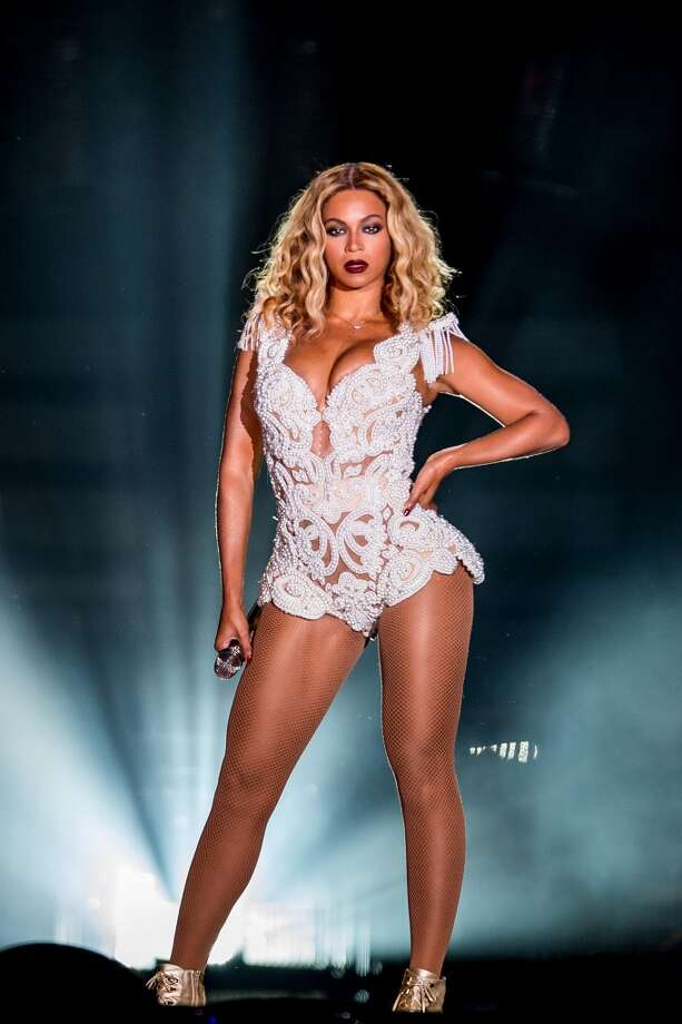 Singer Beyonce performs on stage during a concert in the Rock in Rio Festival on September 13, 2013 in Rio de Janeiro, Brazil. (Photo by Buda Mendes/Getty Images) Photo: Getty Images