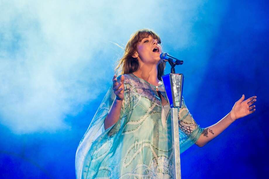 Florence Welch of Florence and the Machine performs on stage during a concert in the Rock in Rio Festival on September 14, 2013 in Rio de Janeiro, Brazil. (Photo by Buda Mendes/Getty Images) Photo: Buda Mendes, Getty Images