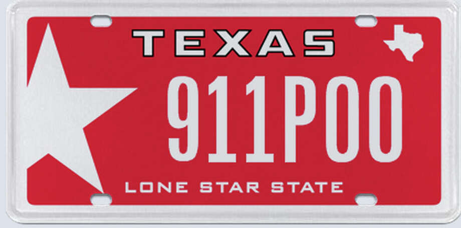 This plate was rejected by the Texas Department of Motor Vehicles in the summer of 2013.